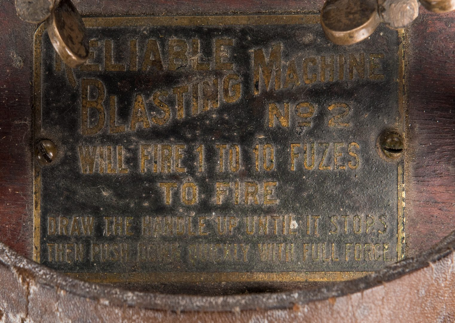 Lot 729: Dupont Reliable Blasting Machine No. 2 w/ Case