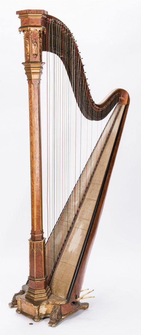 Lot 731: J. F. Browne & Company Pedal Harp