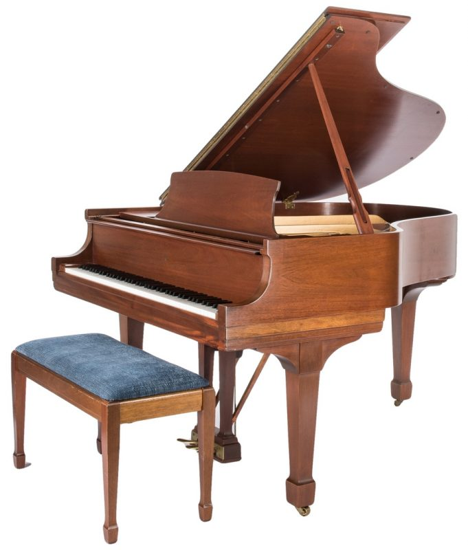 Lot 732: Steinway & Sons Model M Grand Piano