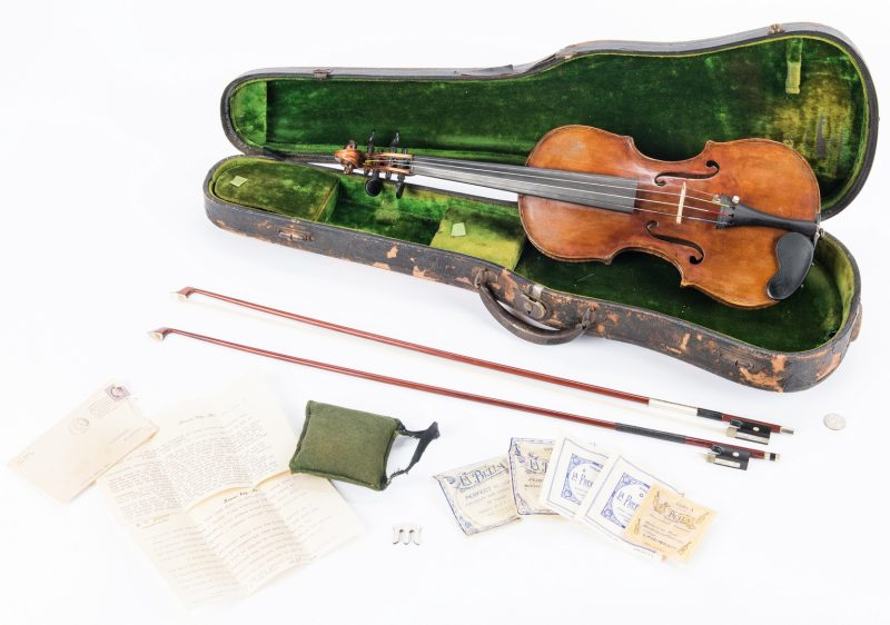 Lot 734: Early 19th Century Violin, after Testore