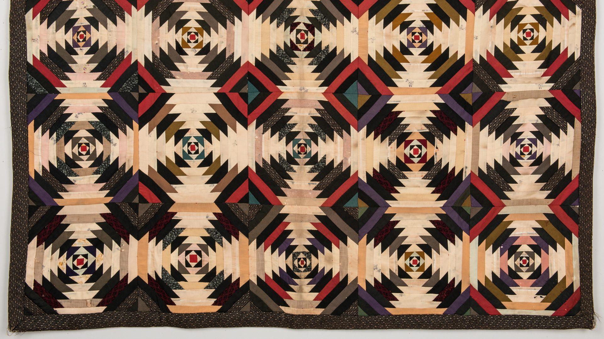 Lot 735: Windmill Blades Pattern Quilt