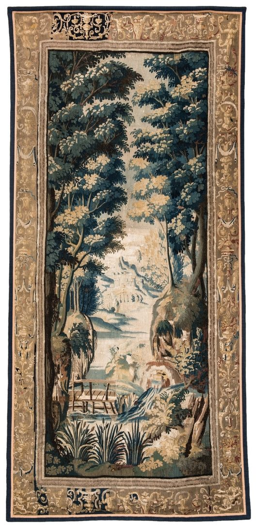 Lot 738: Large 18th Century Flemish Tapestry