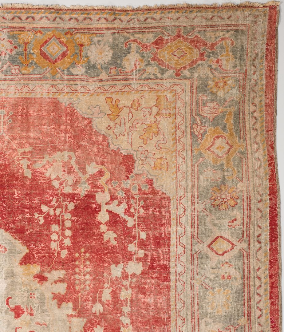 Lot 741: Antique Turkish Oushak Carpet