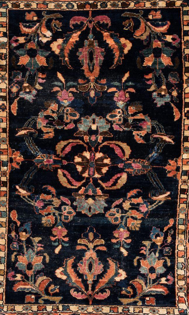 """Lot 745: Antique Persian Sarouk Rug, 4'6"""" x 3'5"""""""