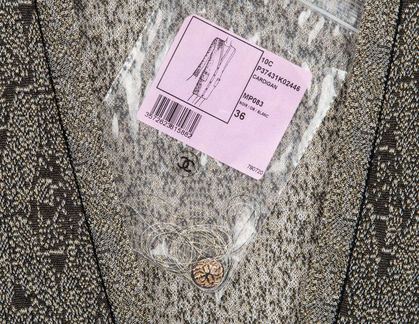 Lot 746: 5 Chanel Fashion Items incl. Cardi Coat