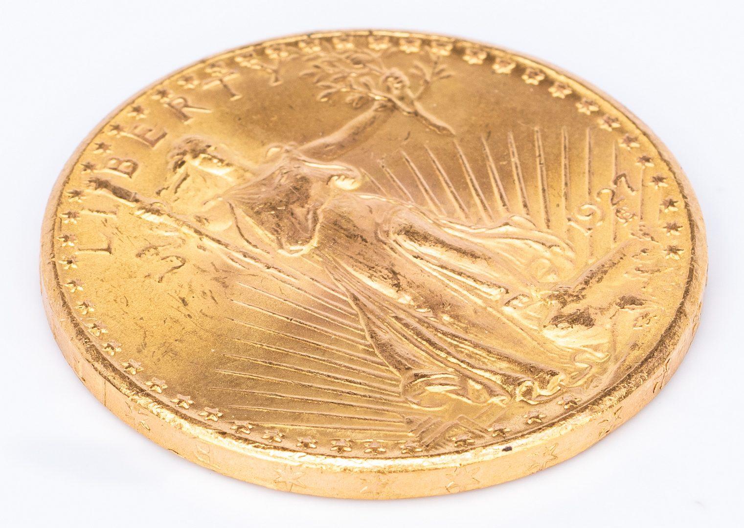 Lot 759: 1927 $20 Saint-Gaudens Gold Coin