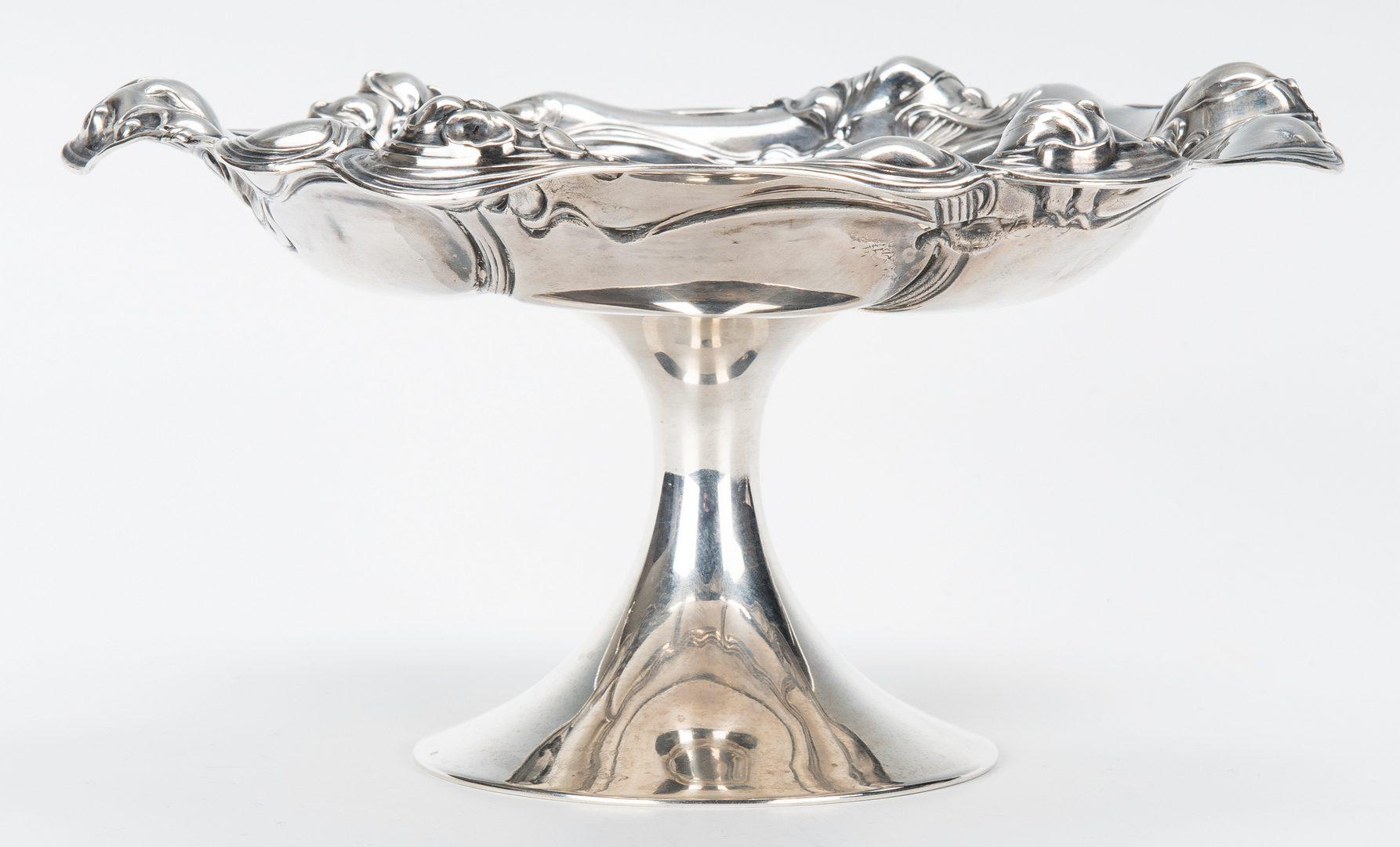 Lot 773: 3 Pcs Silver Hollowware, incl Dutch Bowl