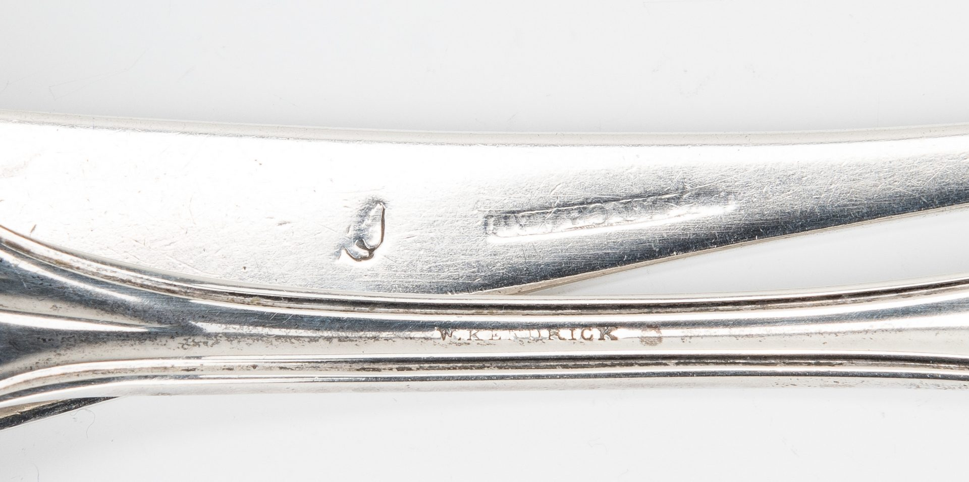 Lot 80: 6 pcs Southern Coin Silver incl. Blanchard