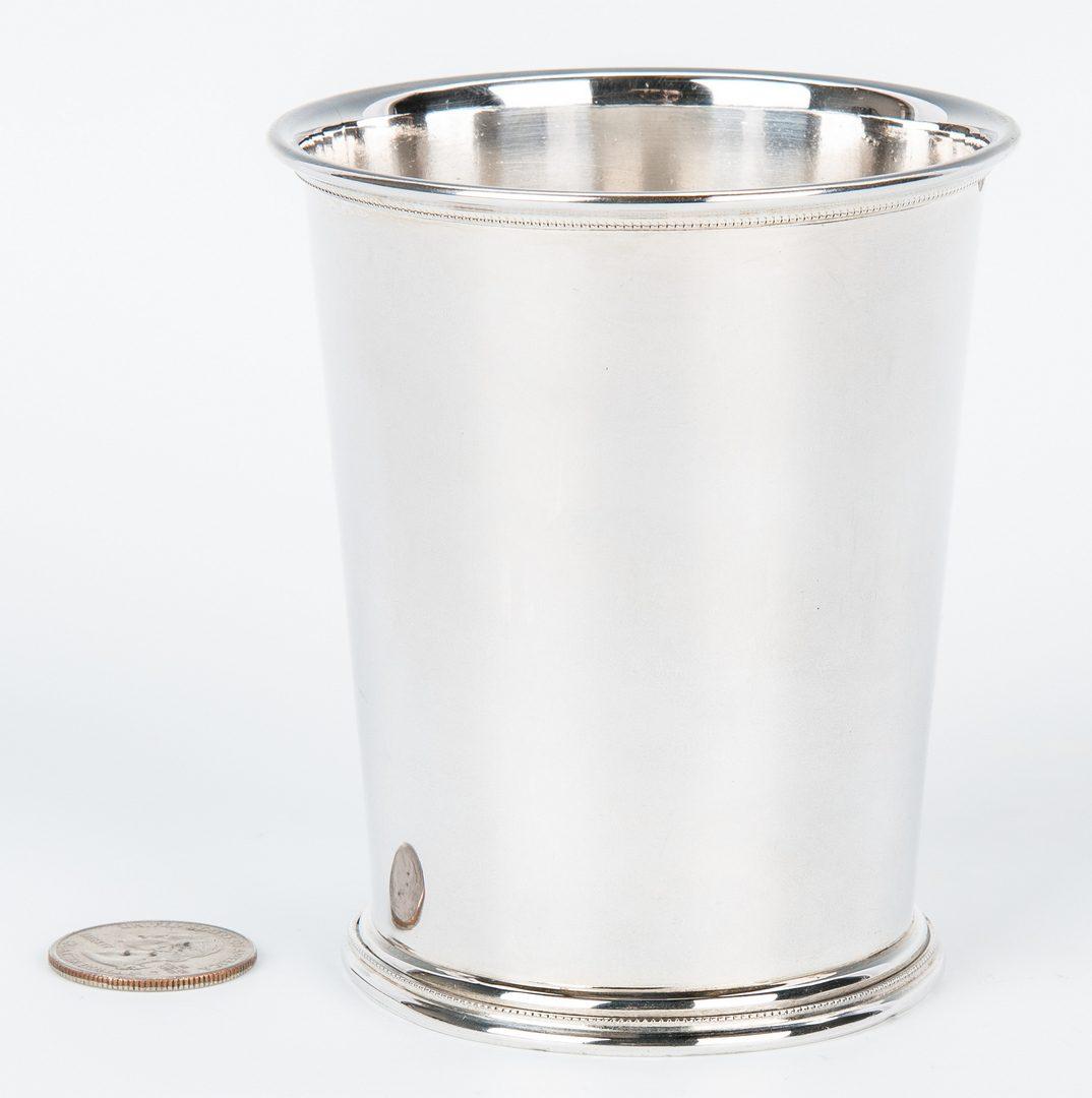 Lot 81: Hudson & Dolfinger Coin Silver KY Julep