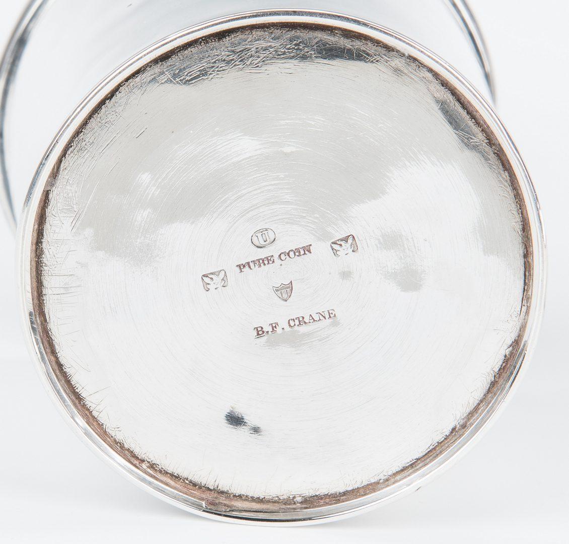 Lot 85: 2 Missouri Coin Silver Juleps