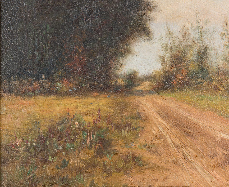 Lot 95: Burr H. Nicholls O/B, Country Road Landscape