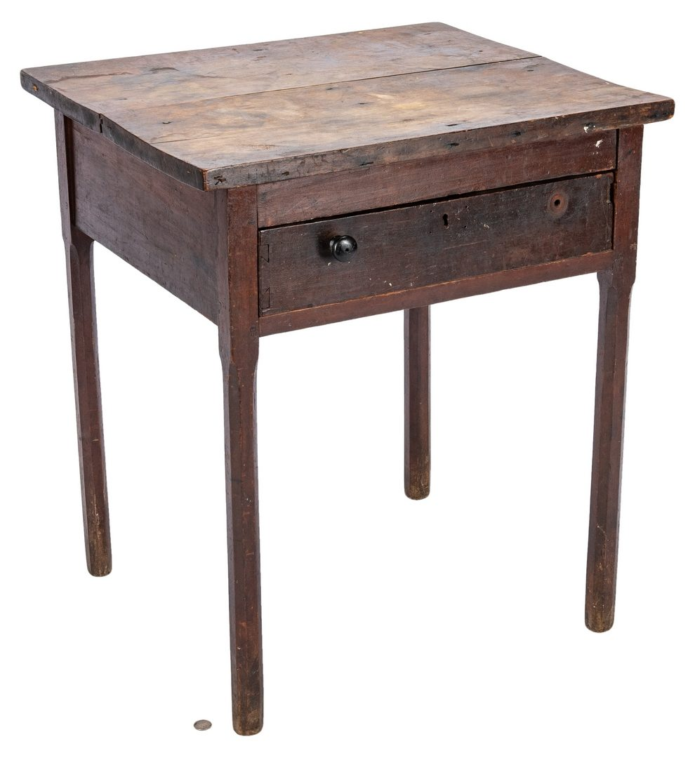 Lot 113: Mississippi Valley One Drawer Stand