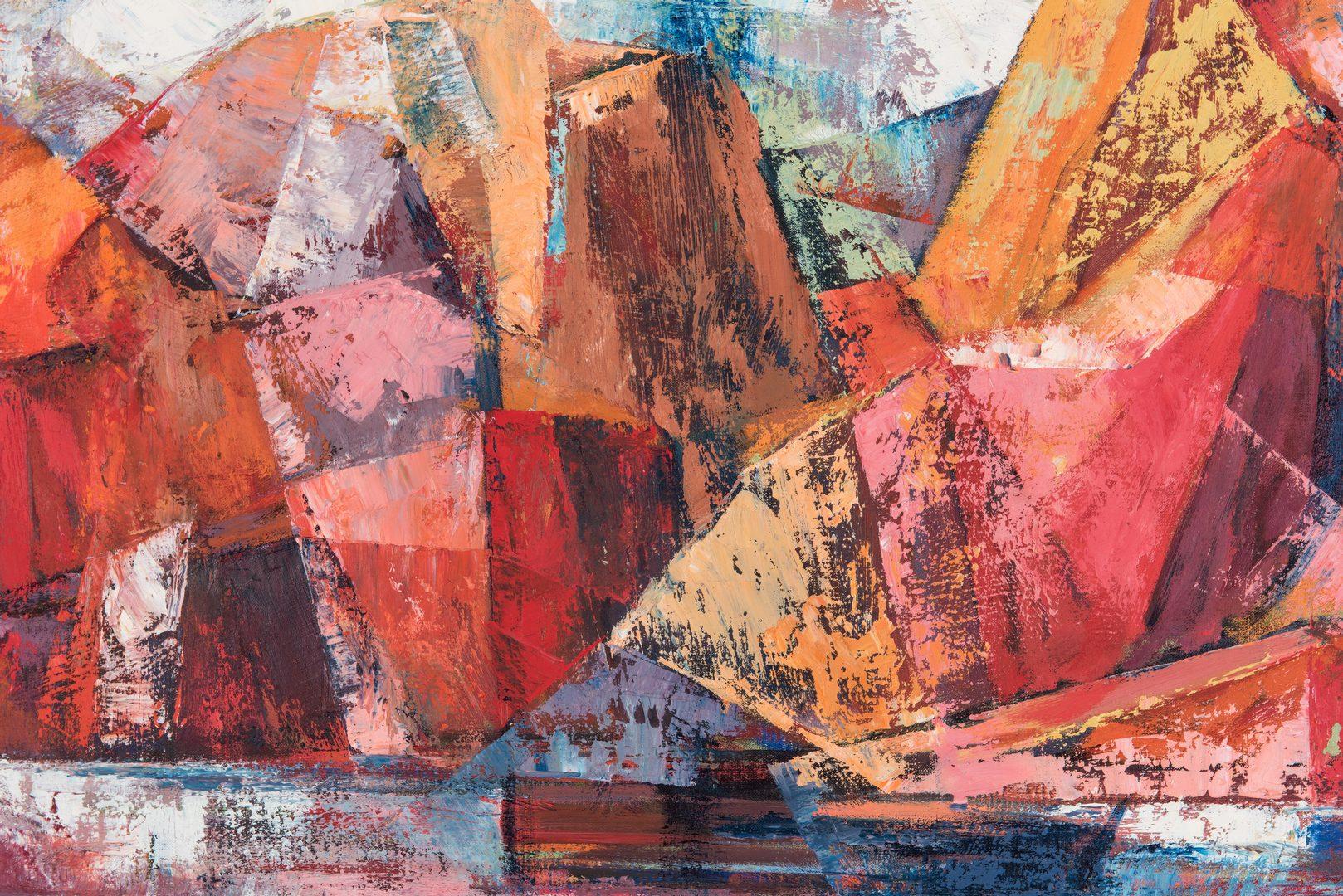 Lot 123: Marjorie Borden Oberne O/C, Georgia Clay