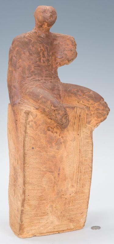 Lot 128: Olen Bryant Maquette Clay Sculpture