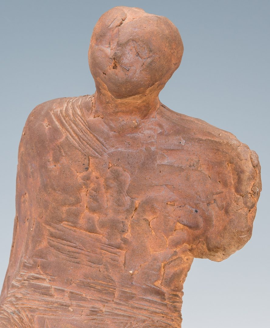 Lot 128: Olen Bryant Maquette Clay Sculpture