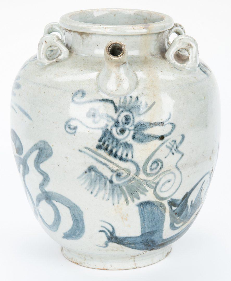 Lot 12: 14 Pcs. of Early Asian Ceramics