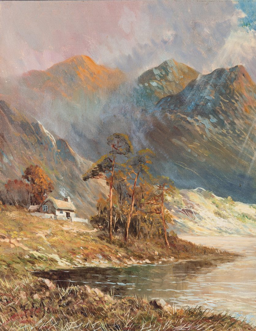 Lot 148: 4 F. E. Jamieson O/C, Scottish Landscape Paintings