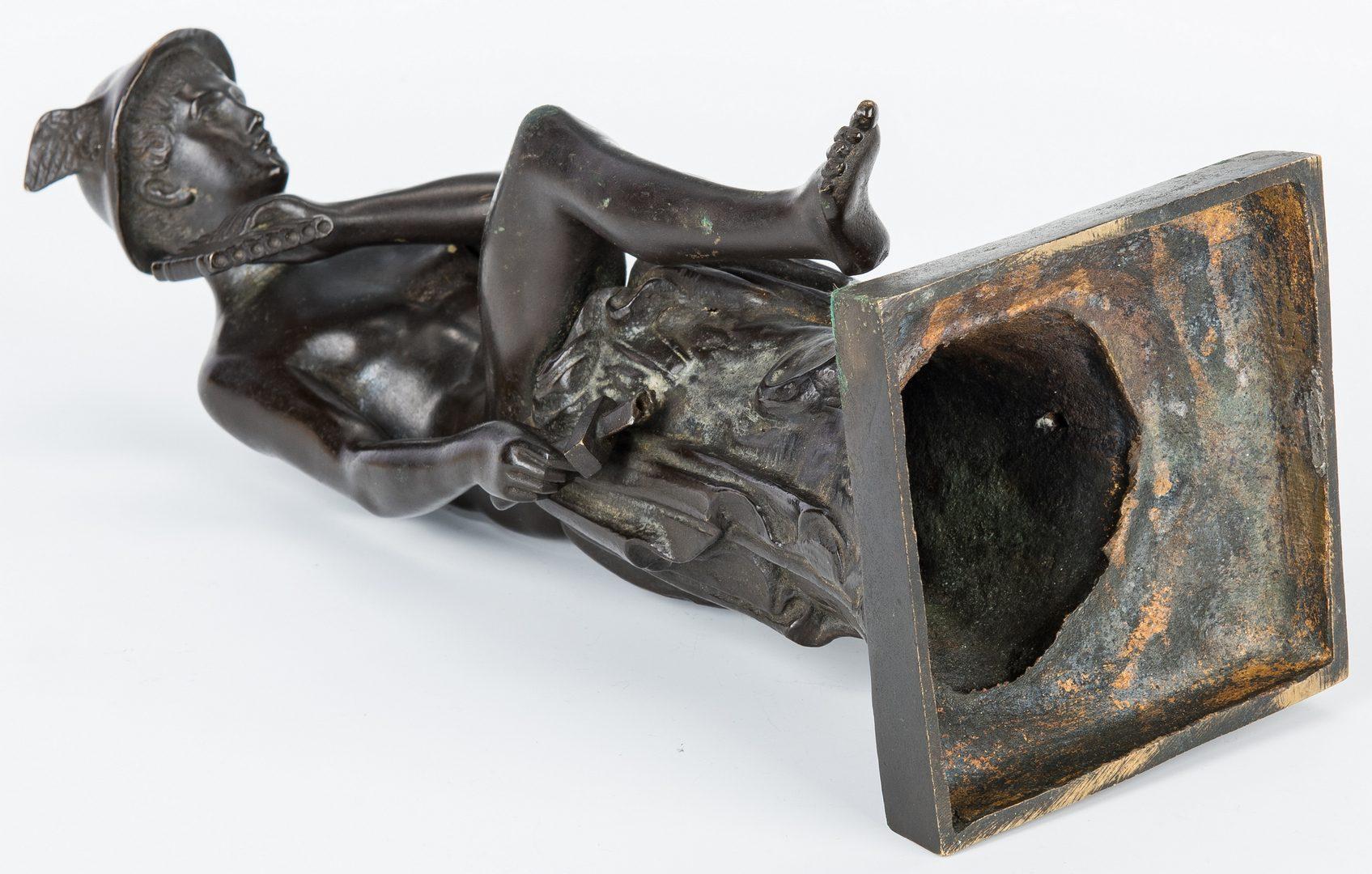 Lot 152: 2 Sculptures incl. Hermes Bronze and Bill Lett Knight