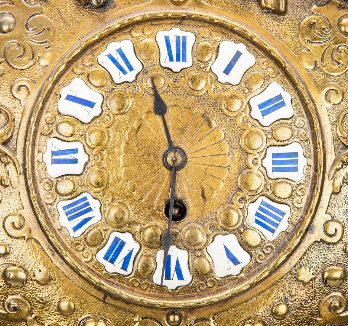 Lot 154: Gustav Becker German Ormolu Wall Clock