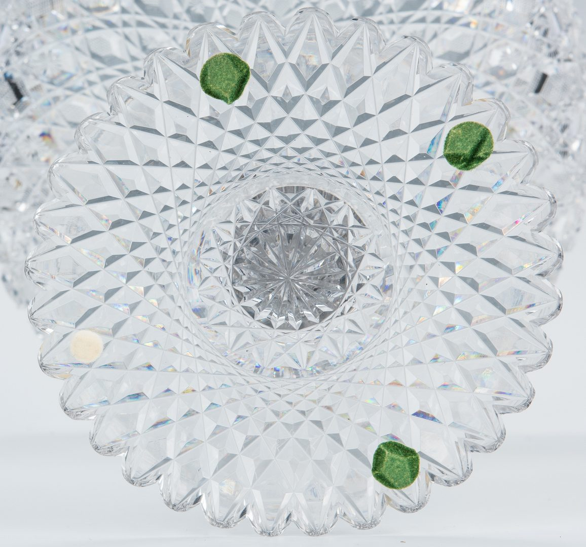 Lot 164: American Brilliant Cut Glass Compote