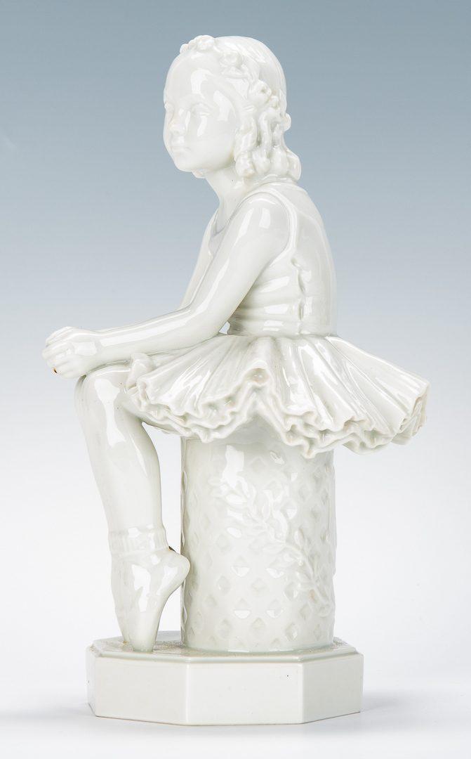 Lot 180: 5 Royal Copenhagen Porcelain Figurines