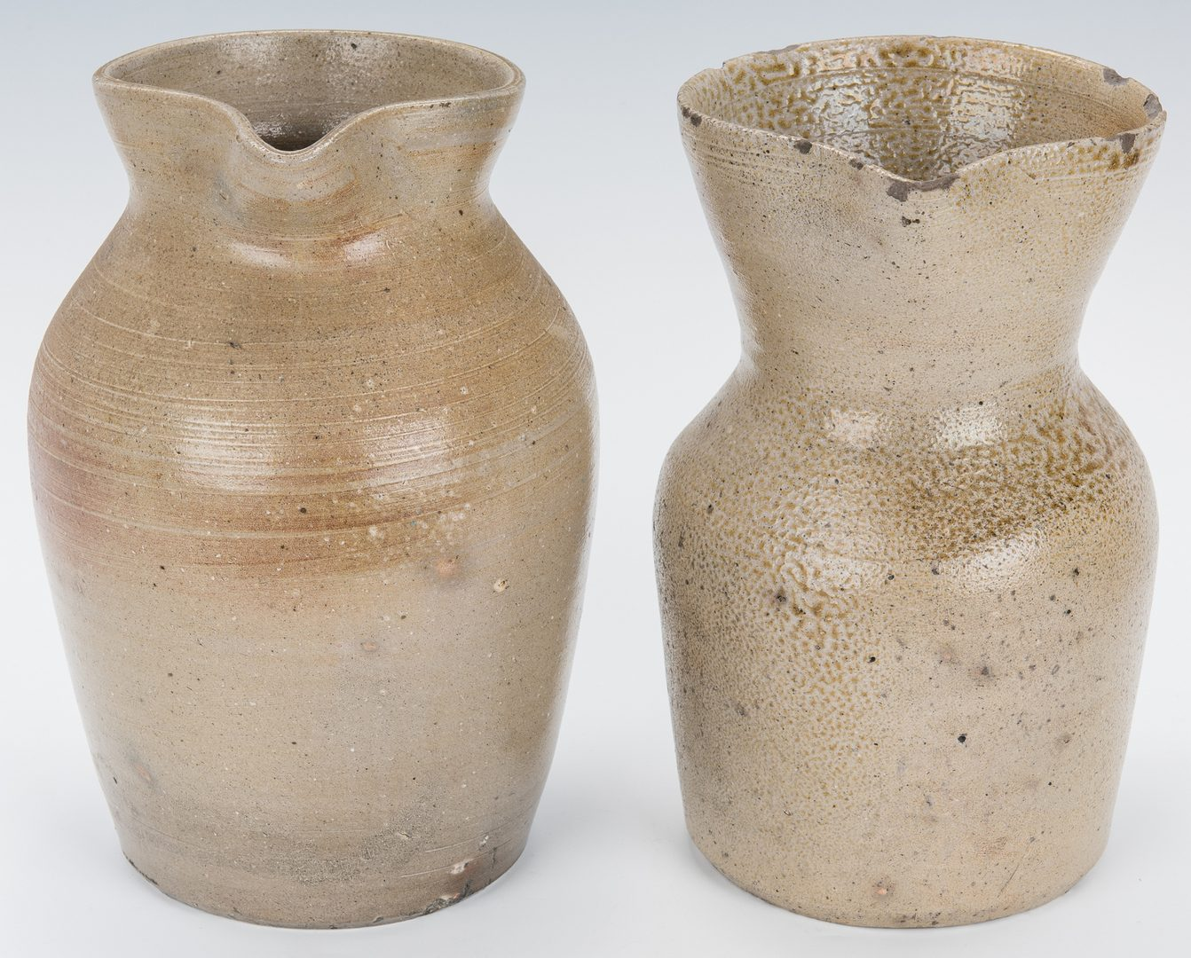 Lot 190: 3 NC Pottery Items, 2 poss. Rance Steed