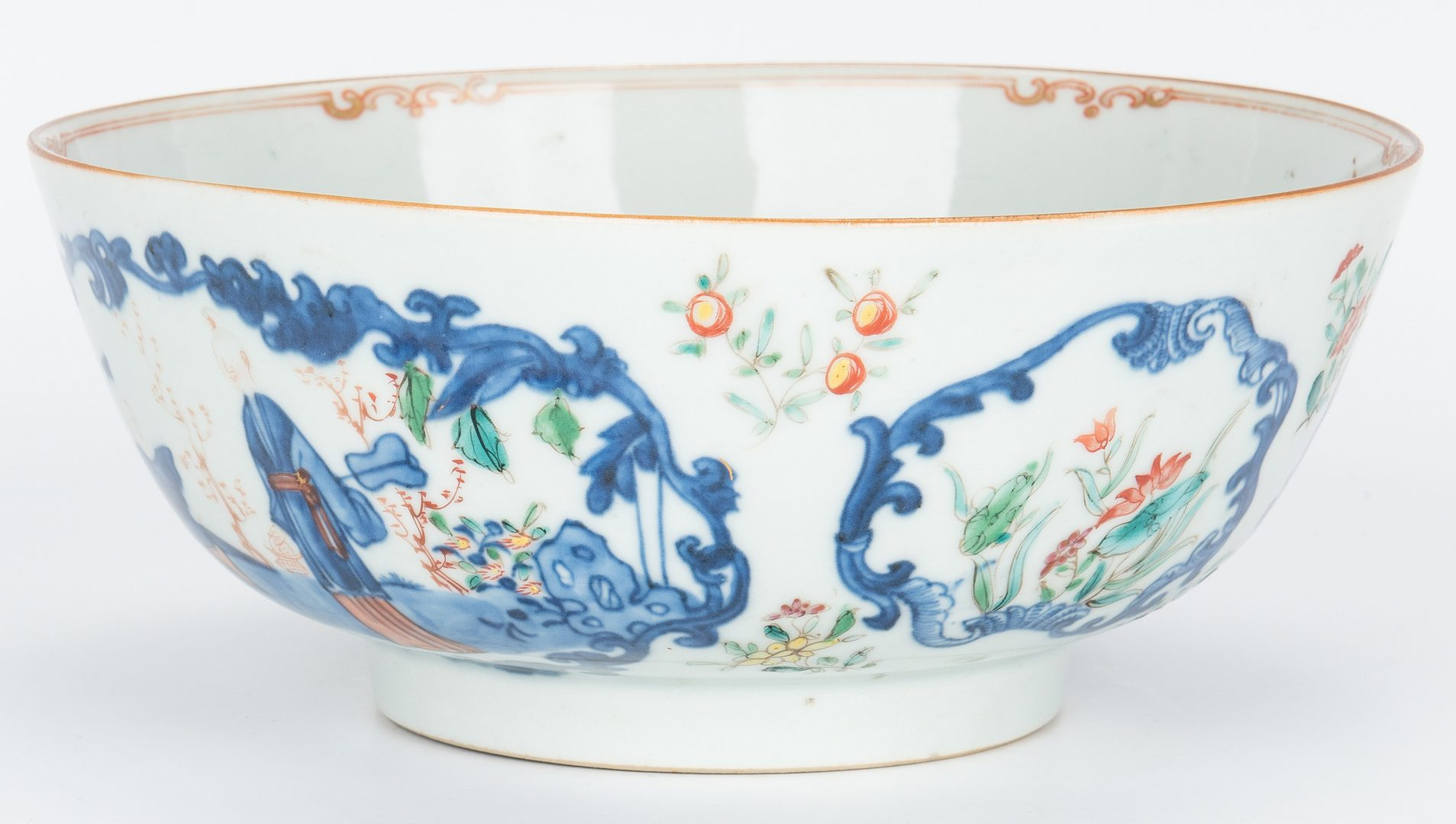Lot 206: 8 Chinese Porcelain Items, incl. Export