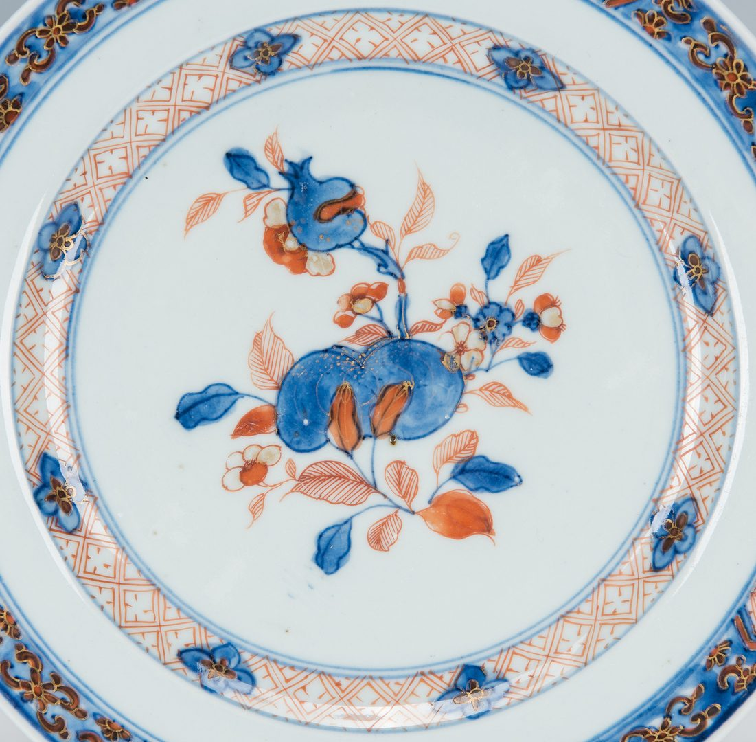 Lot 207: Chinese & English Porcelain Plates, 6 total