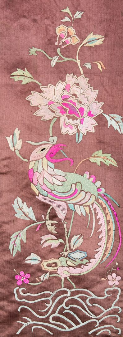 Lot 20: 4 Chinese Watercolors on Silk