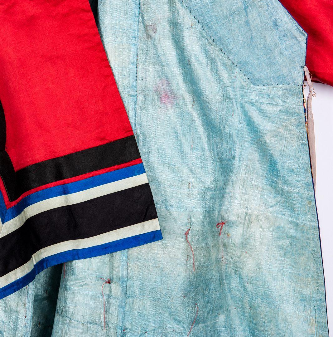 Lot 20: 2 Asian Kimono & Skirt, Early 20th Cent.