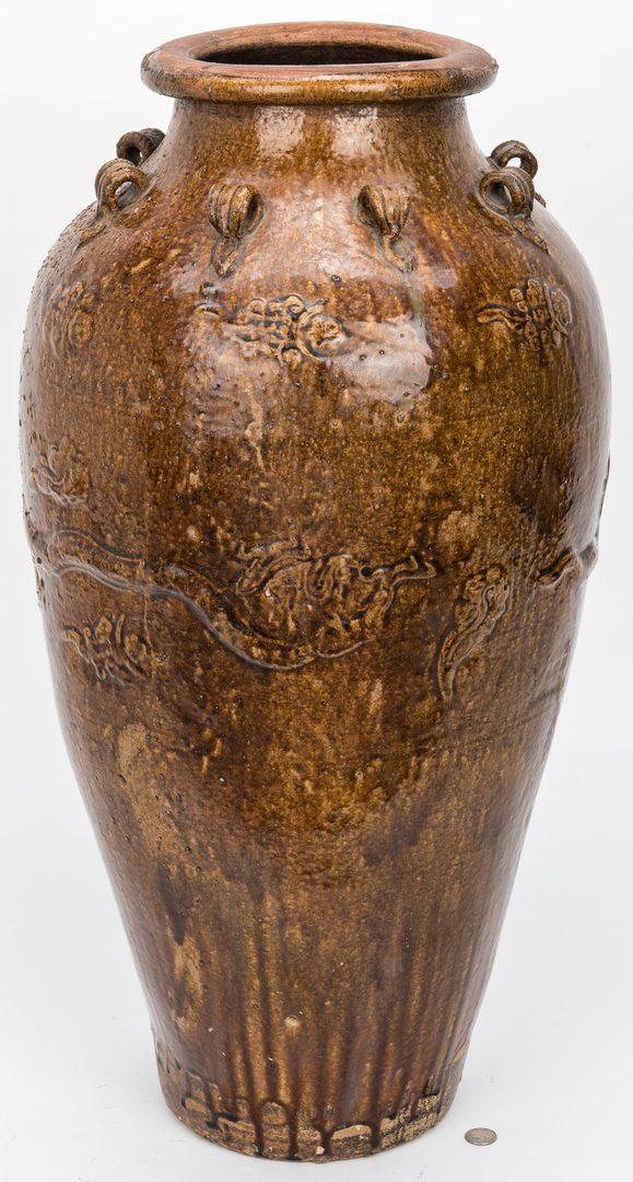 Lot 226: Large Southeast Asian, Martaban Urn