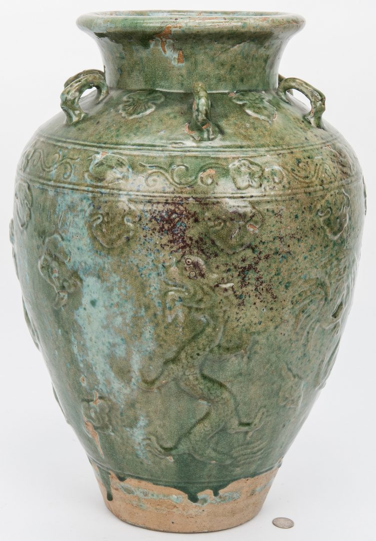 Lot 227: Large Southeast Asian Martaban Urn