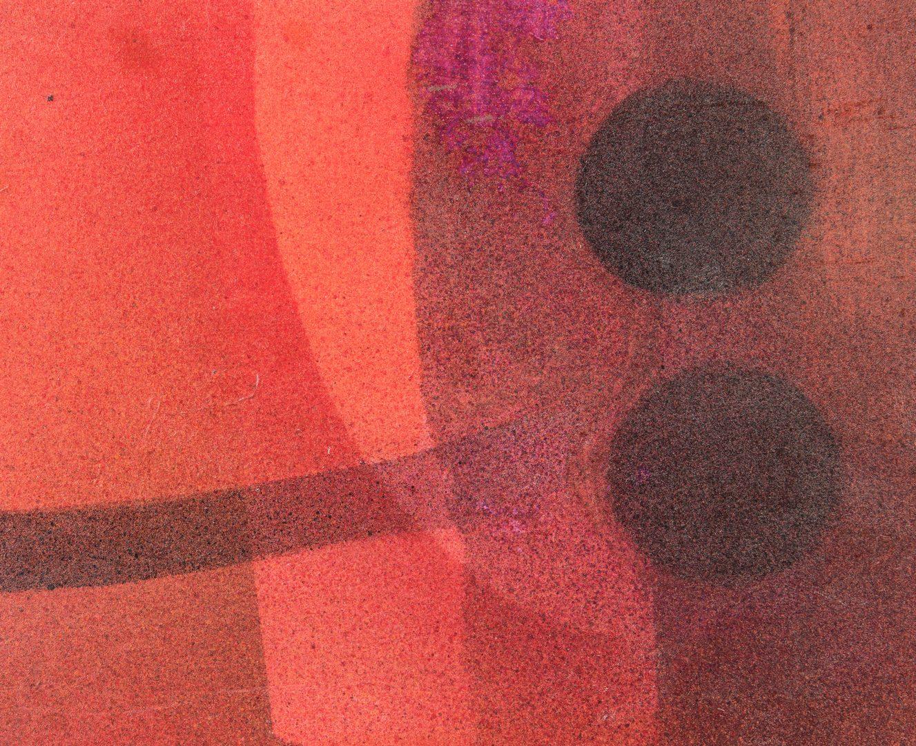 Lot 241: 2 Abstract Paintings, Okoshi and Tejada