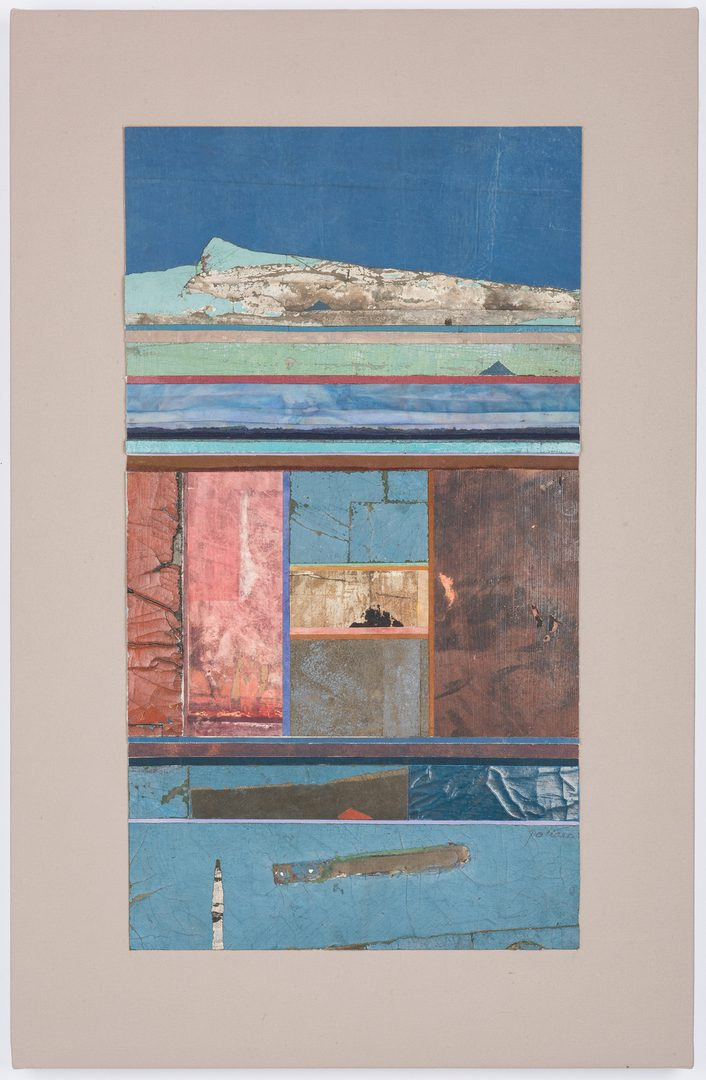 Lot 244: Paul Pollaro Abstract Collage