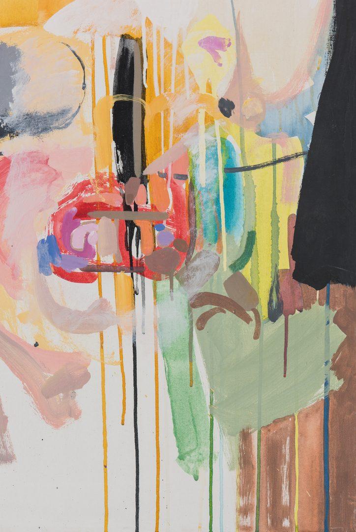 Lot 251: John Stuart Ingle O/C Contemporary Abstract
