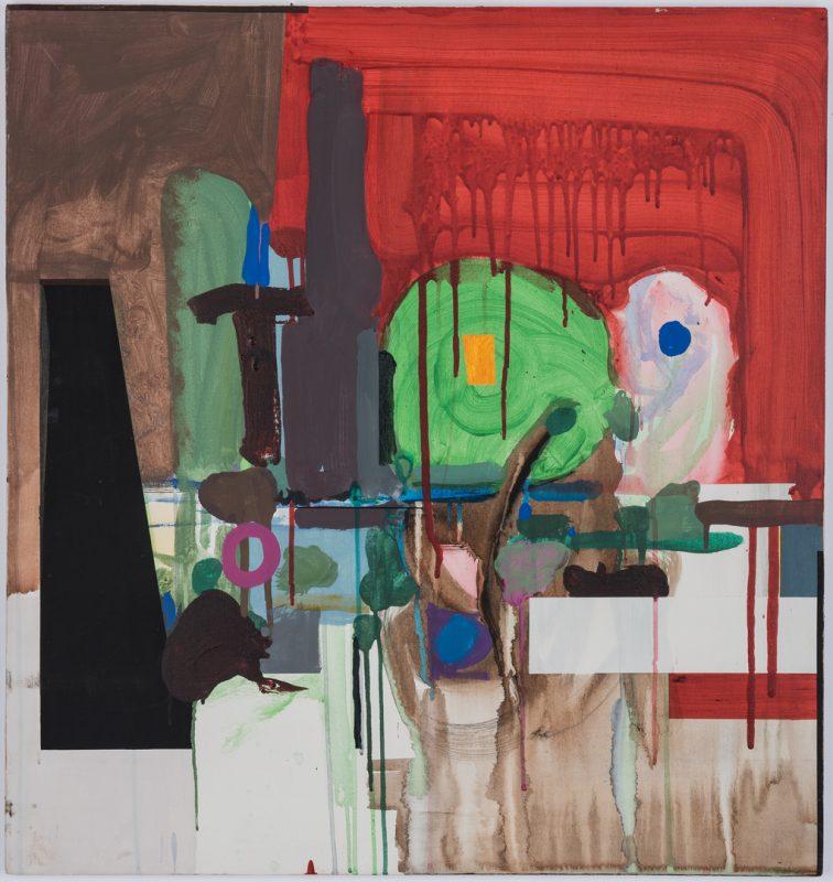 Lot 252: John Stuart Ingle O/C Abstract Painting
