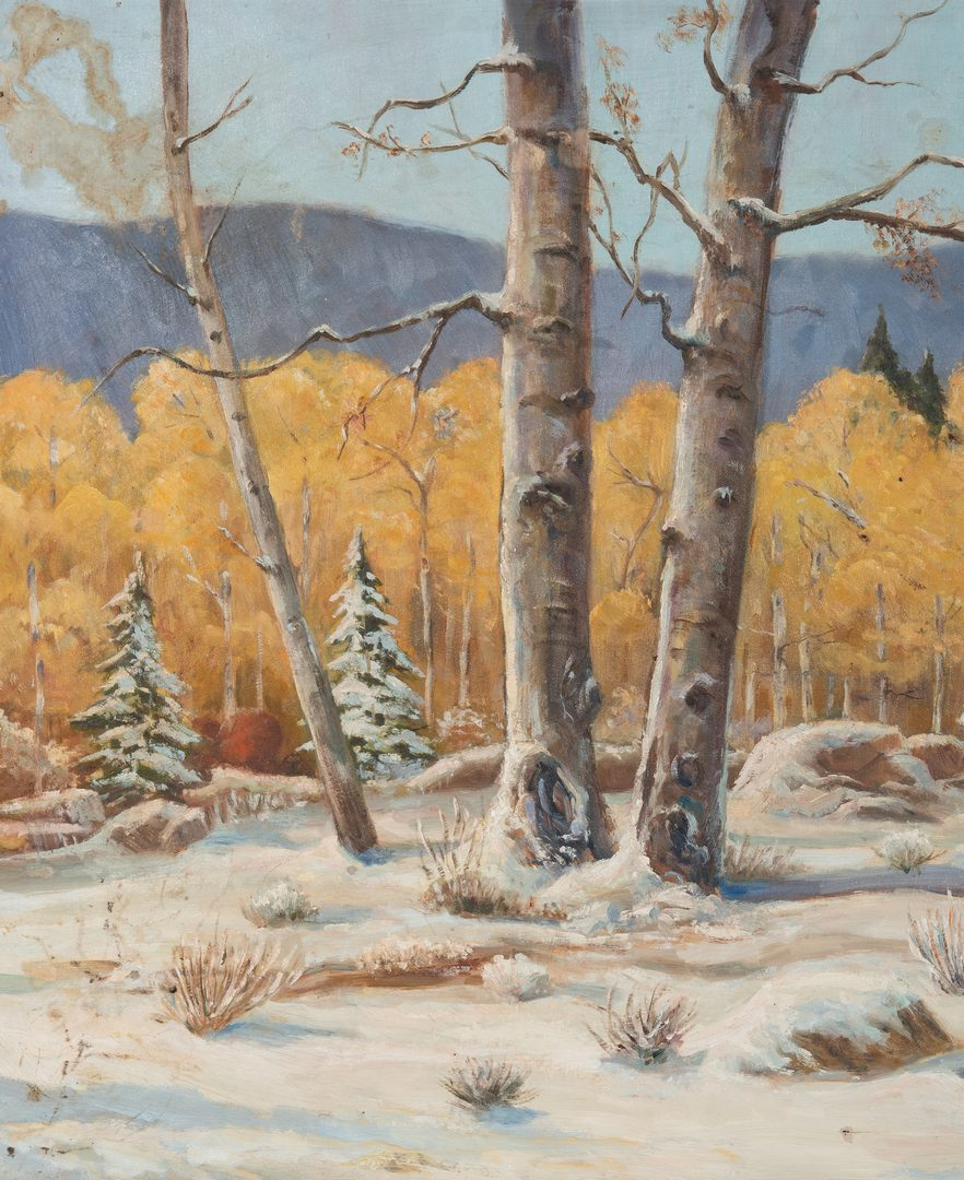 Lot 269: 2 Chester Wills Acrylic Landscapes