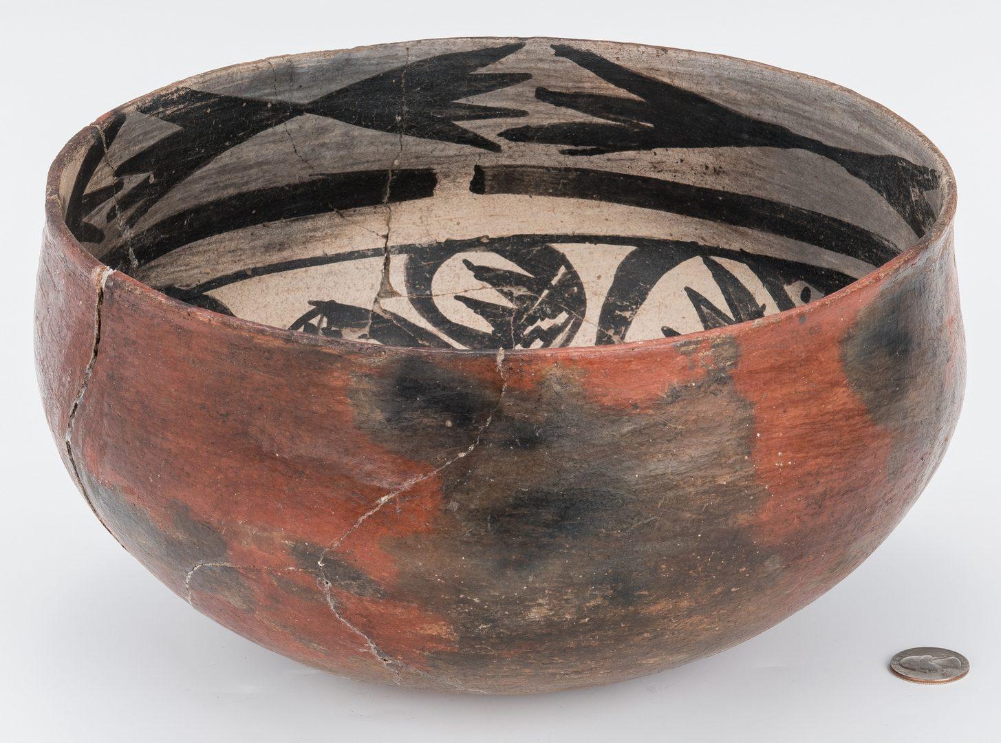 Lot 273: Native American Southwest Pueblo Pottery Bowl
