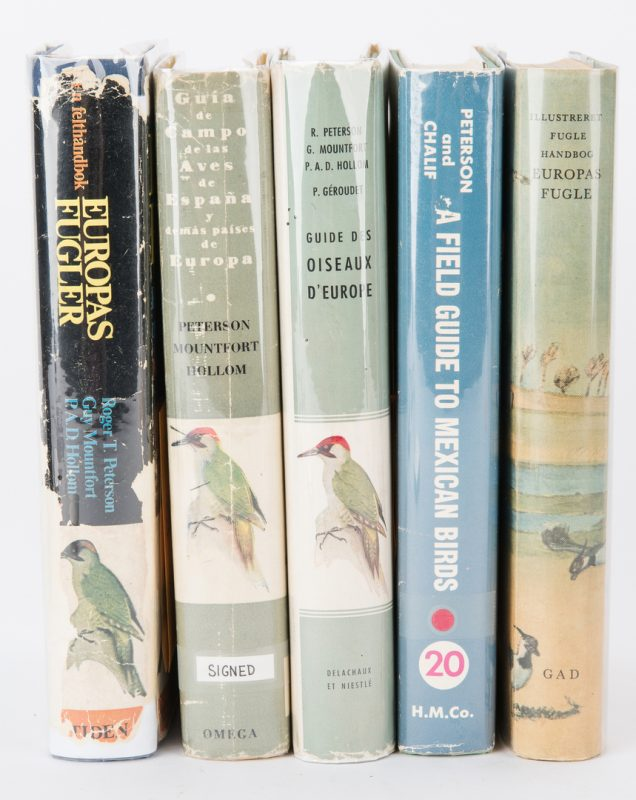 Lot 281: 5 Roger Tory Peterson, Bird Guide Foreign Editions