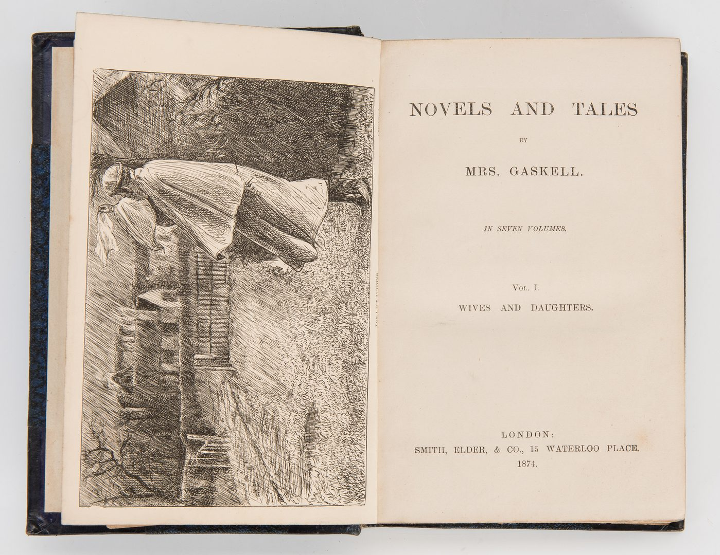 Lot 287: Gaskell's Novels, 6 Vols. 1873-1874