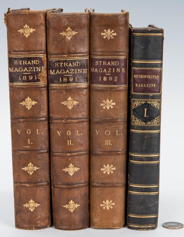 Lot 288: Strand and Metropolitan Magazines inc. Sherlock Holmes