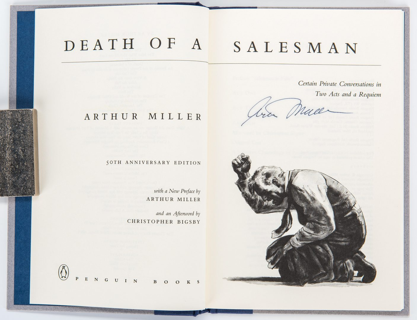 Lot 293: 7 Signed Misc. Books, incl. Salk, Miller, Gore