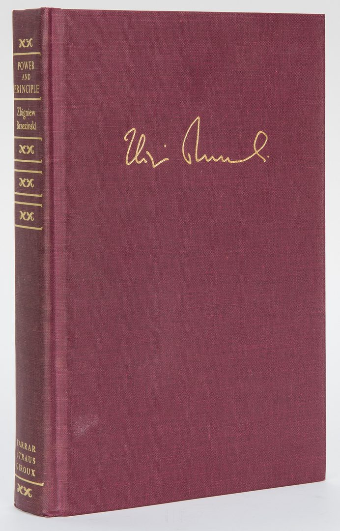 Lot 297: 15 Presidential/Political Signed Books