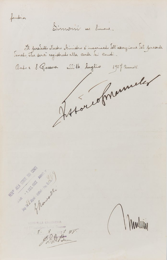 Lot 301: Autograph Collection: Sports, World Leaders, Civil Rights