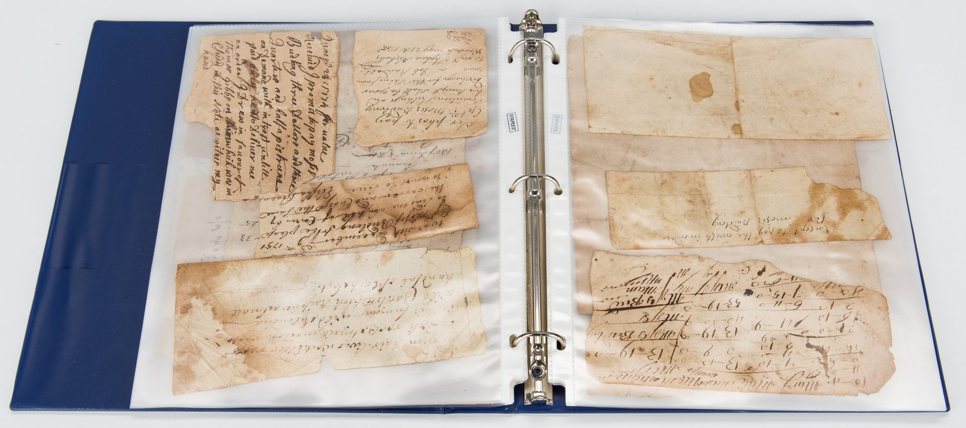 Lot 308: Budlong Family, Early American Archive