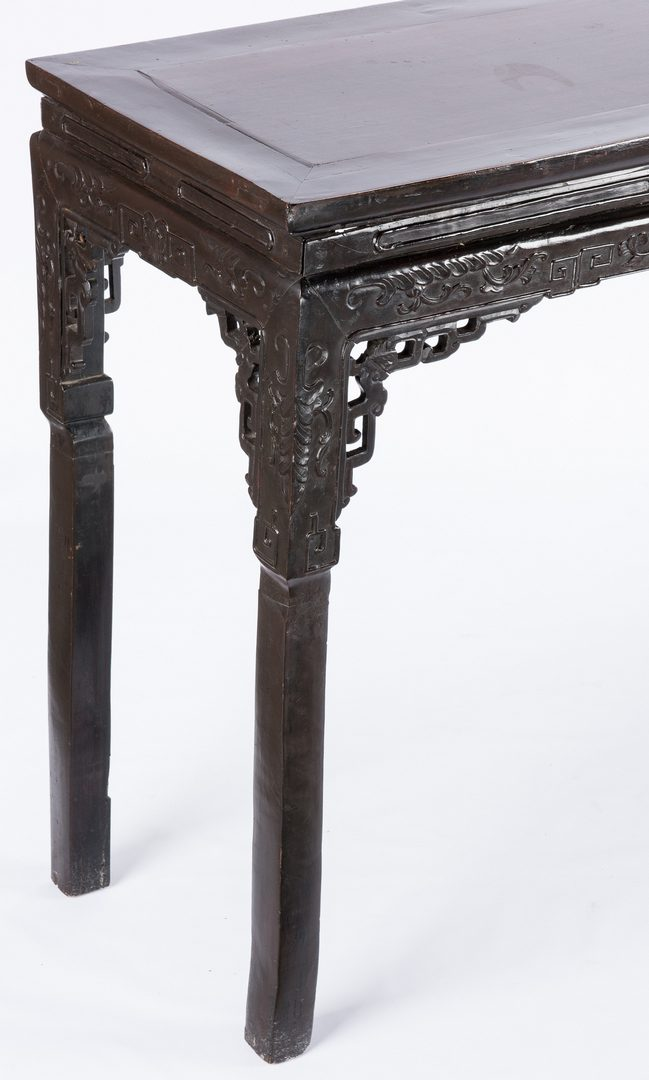 Lot 30: Chinese Altar Table