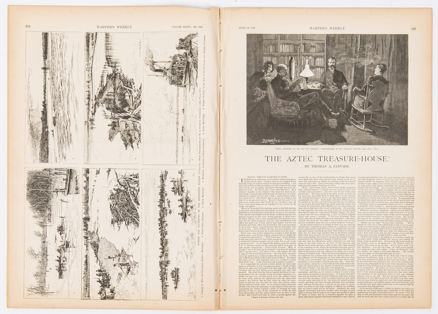 Lot 315: Grouping of 34 19th c. Newspapers, incl. Civil War