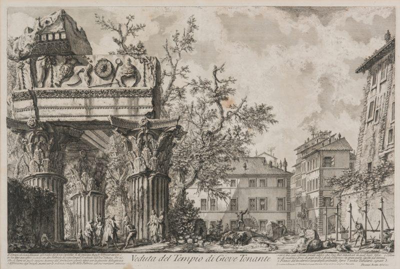 Lot 348: Giovanni Battista Piranesi Etching