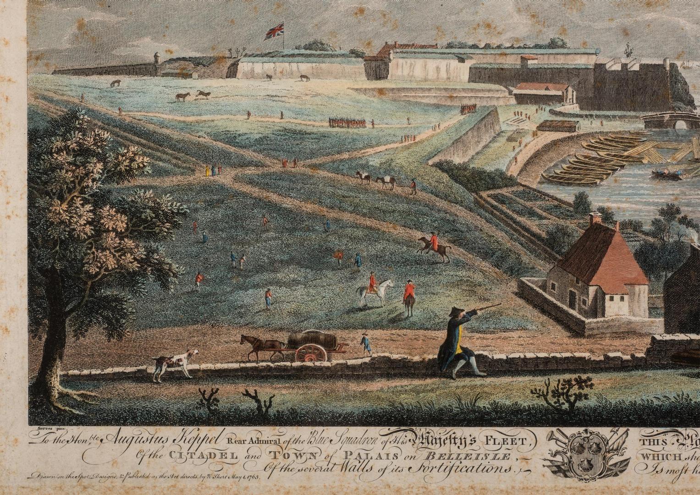 Lot 350: 2 Admiral A. Keppel Maritime Prints