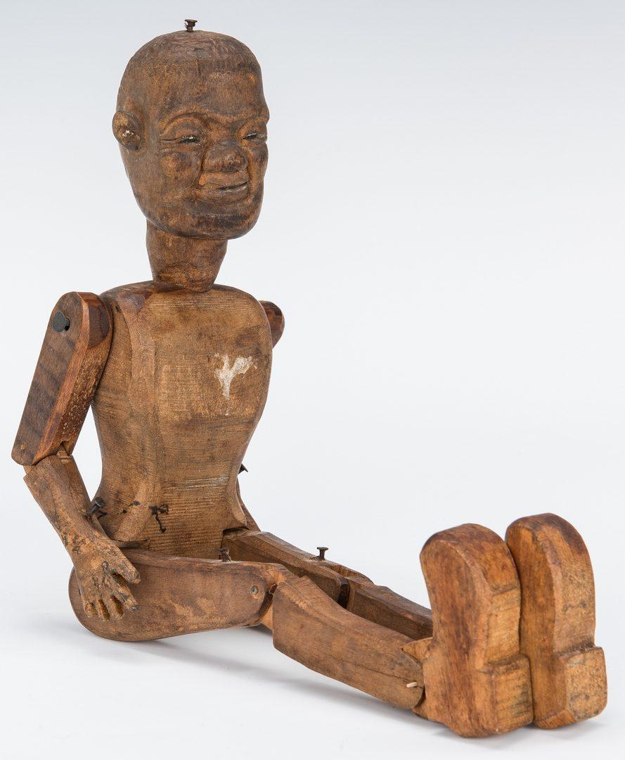 Lot 358: 3 Folk Art Carvings incl. C. Morgan, TN